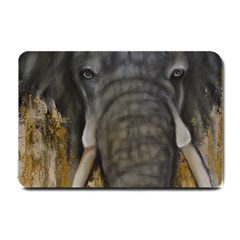 In The Mist Small Doormat  by timelessartoncanvas