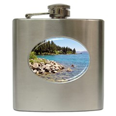 Nevada Lake Tahoe  Hip Flask (6 Oz)