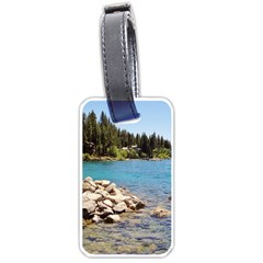 Nevada Lake Tahoe  Luggage Tags (one Side)