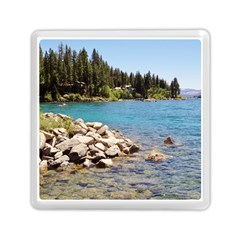 Nevada Lake Tahoe  Memory Card Reader (square)