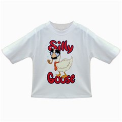 Silly Goose Baby T-shirt by Ellador