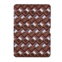 Metal Weave Pink Samsung Galaxy Tab 2 (10 1 ) P5100 Hardshell Case  by MoreColorsinLife
