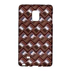 Metal Weave Pink Galaxy Note Edge by MoreColorsinLife