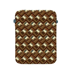 Metal Weave Golden Apple Ipad 2/3/4 Protective Soft Cases by MoreColorsinLife