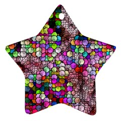Artistic Cubes 3 Star Ornament (two Sides)