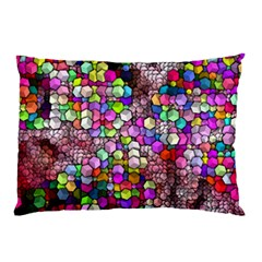 Artistic Cubes 3 Pillow Cases by MoreColorsinLife