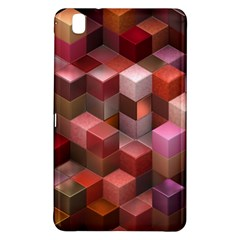 Artistic Cubes 9 Pink Red Samsung Galaxy Tab Pro 8 4 Hardshell Case