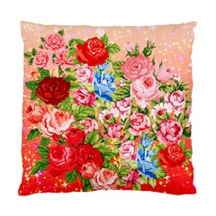Pretty Sparkly Roses Standard Cushion Cases (two Sides)  by LovelyDesigns4U