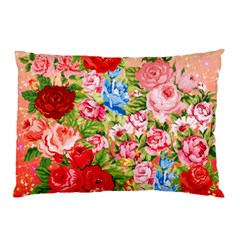 Pretty Sparkly Roses Pillow Cases (two Sides) by LovelyDesigns4U