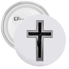 Christian Cross 3  Button by igorsin