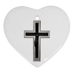 Christian Cross Ornament (heart) by igorsin