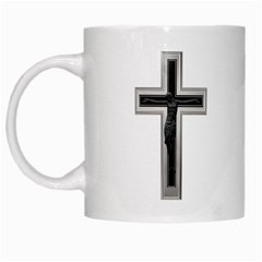 Christian Cross White Mug by igorsin
