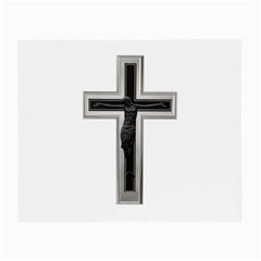 Christian Cross Small Glasses Cloth by igorsin