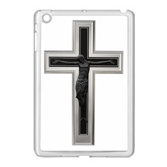 Christian Cross Apple Ipad Mini Case (white) by igorsin