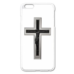 Christian Cross Apple Iphone 6 Plus/6s Plus Enamel White Case by igorsin