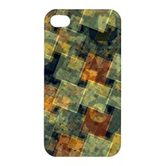 Stars Circles And Squares Apple Iphone 4/4s Hardshell Case by LalyLauraFLM