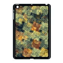 Stars Circles And Squares Apple Ipad Mini Case (black) by LalyLauraFLM