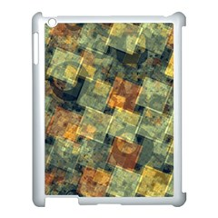 Stars Circles And Squares Apple Ipad 3/4 Case (white) by LalyLauraFLM