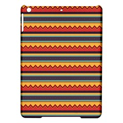 Waves And Stripes Pattern Apple Ipad Air Hardshell Case by LalyLauraFLM
