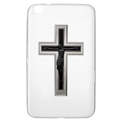 Red Christian Cross Samsung Galaxy Tab 3 (8 ) T3100 Hardshell Case  by igorsin