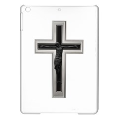 Red Christian Cross Apple Ipad Air Hardshell Case by igorsin