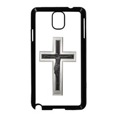 Red Christian Cross Samsung Galaxy Note 3 Neo Hardshell Case (black) by igorsin