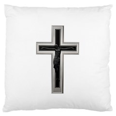 Red Christian Cross Standard Flano Cushion Case (one Side) by igorsin