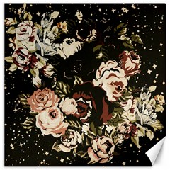 Dark Roses Canvas 12  X 12   by LovelyDesigns4U