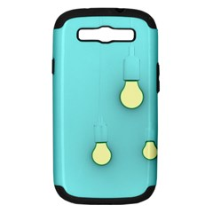Bright Ideas Samsung Galaxy S Iii Hardshell Case (pc+silicone) by essentialimage