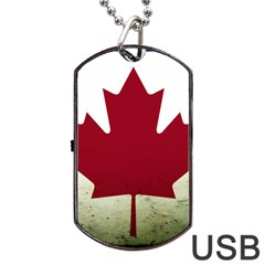 Style 9 Dog Tag Usb Flash (one Side) by TheGreatNorth