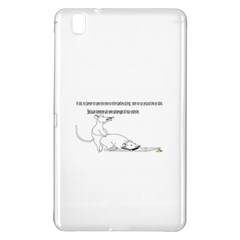 Better To Take Time To Think Samsung Galaxy Tab Pro 8 4 Hardshell Case by mouse