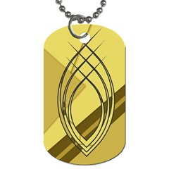 Geo Fun 12 Dog Tag (two Sides) by MoreColorsinLife
