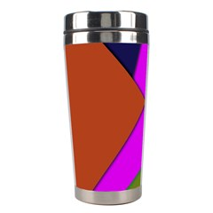 Geo Fun 13 Stainless Steel Travel Tumblers by MoreColorsinLife