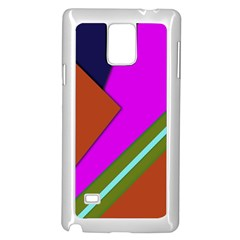 Geo Fun 13 Samsung Galaxy Note 4 Case (white) by MoreColorsinLife