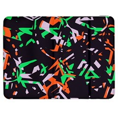 Broken Pieces Samsung Galaxy Tab 7  P1000 Flip Case by LalyLauraFLM