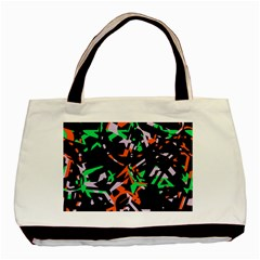 Broken Pieces Basic Tote Bag (two Sides) by LalyLauraFLM