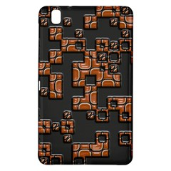 Brown Pieces	samsung Galaxy Tab Pro 8 4 Hardshell Case