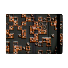 Brown Pieces	apple Ipad Mini 2 Flip Case by LalyLauraFLM