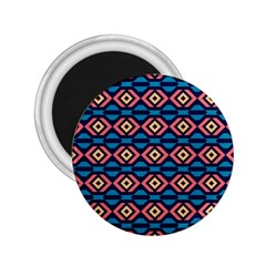 Rhombus  Pattern 2 25  Magnet by LalyLauraFLM