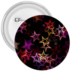 Sparkly Stars Pattern 3  Buttons by LovelyDesigns4U