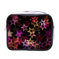 Sparkly Stars Pattern Mini Toiletries Bags by LovelyDesigns4U