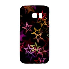 Sparkly Stars Pattern Galaxy S6 Edge by LovelyDesigns4U