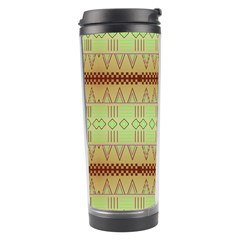 Aztec Pattern Travel Tumbler by LalyLauraFLM