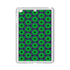 Stars In Hexagons Pattern Apple Ipad Mini 2 Case (white)