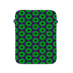 Stars In Hexagons Pattern Apple Ipad 2/3/4 Protective Soft Case by LalyLauraFLM