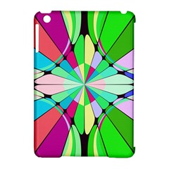 Distorted Flower Apple Ipad Mini Hardshell Case (compatible With Smart Cover) by LalyLauraFLM