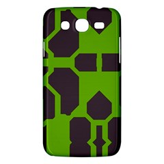 Brown Green Shapes Samsung Galaxy Mega 5 8 I9152 Hardshell Case  by LalyLauraFLM