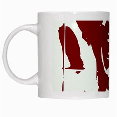Psycho White Mugs by icarusismartdesigns