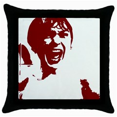 Psycho Throw Pillow Cases (black) by icarusismartdesigns