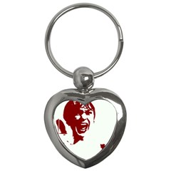 Psycho Key Chains (heart)  by icarusismartdesigns